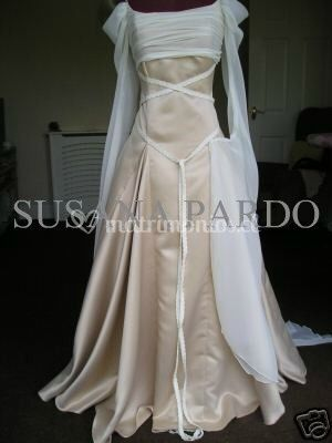 Vestido medieval clásico