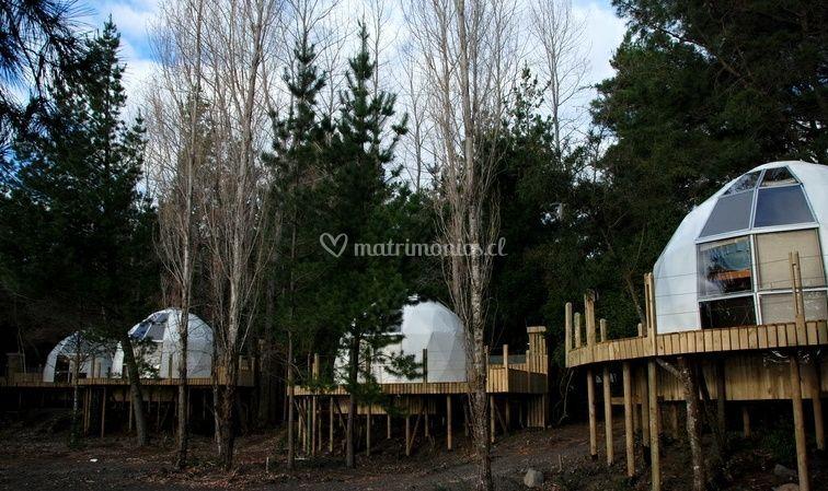 Habitaciones tipo domo