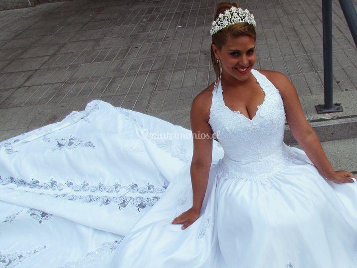 Vestido David´s bridal