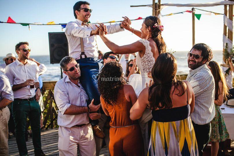 Baile en terraza