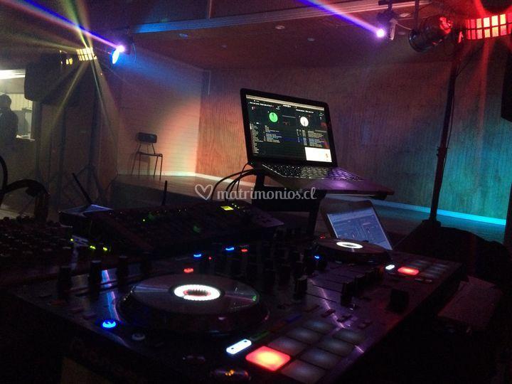 DJ música variada