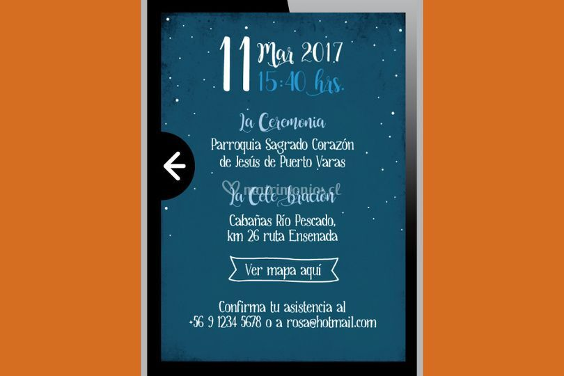Invitación Camping (digital)