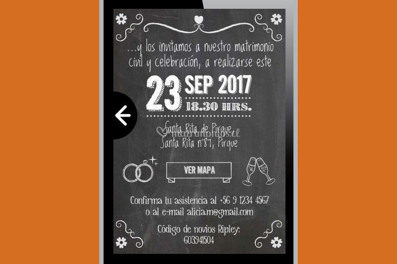 Invitación pizarra (digital)