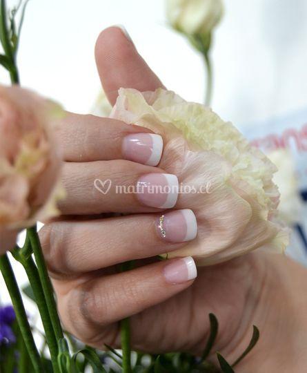 Manicure de novia
