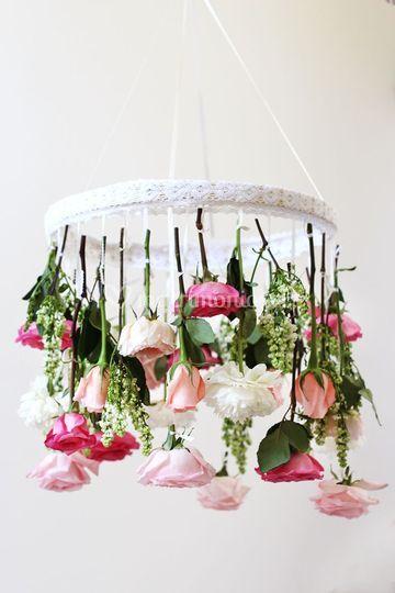Lampara floral