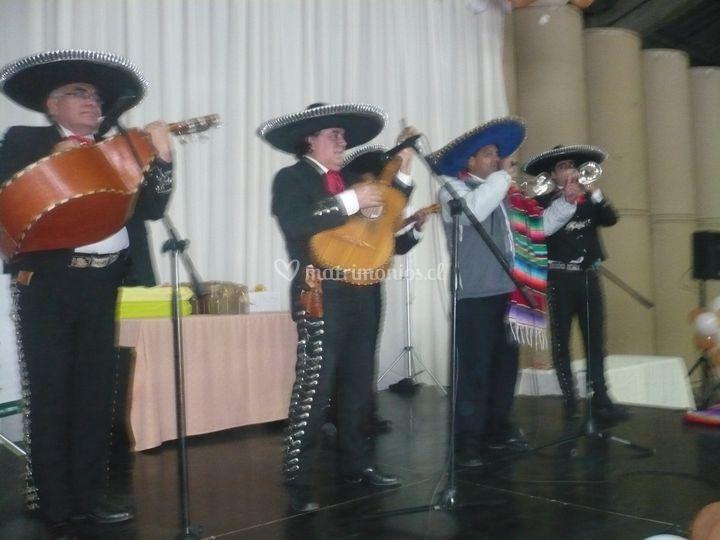 Serenata mariachis