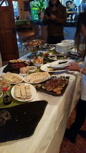 Buffer para el banquete