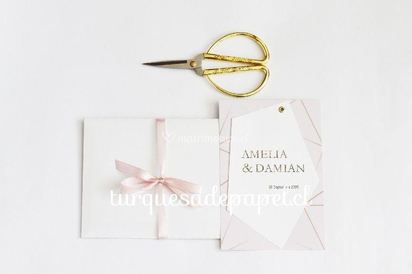 Invitación Amelia