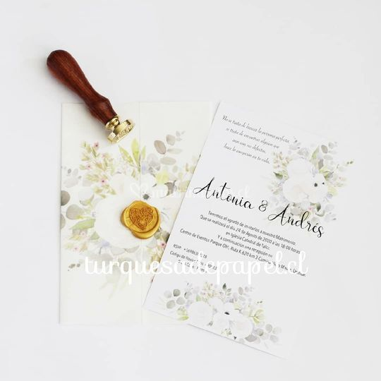 Invitación Antonia