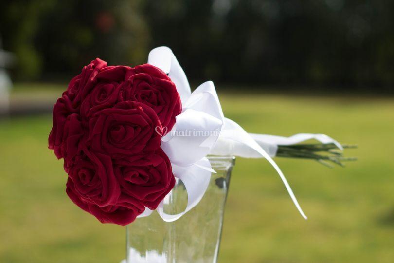 Ramo tejido de novia