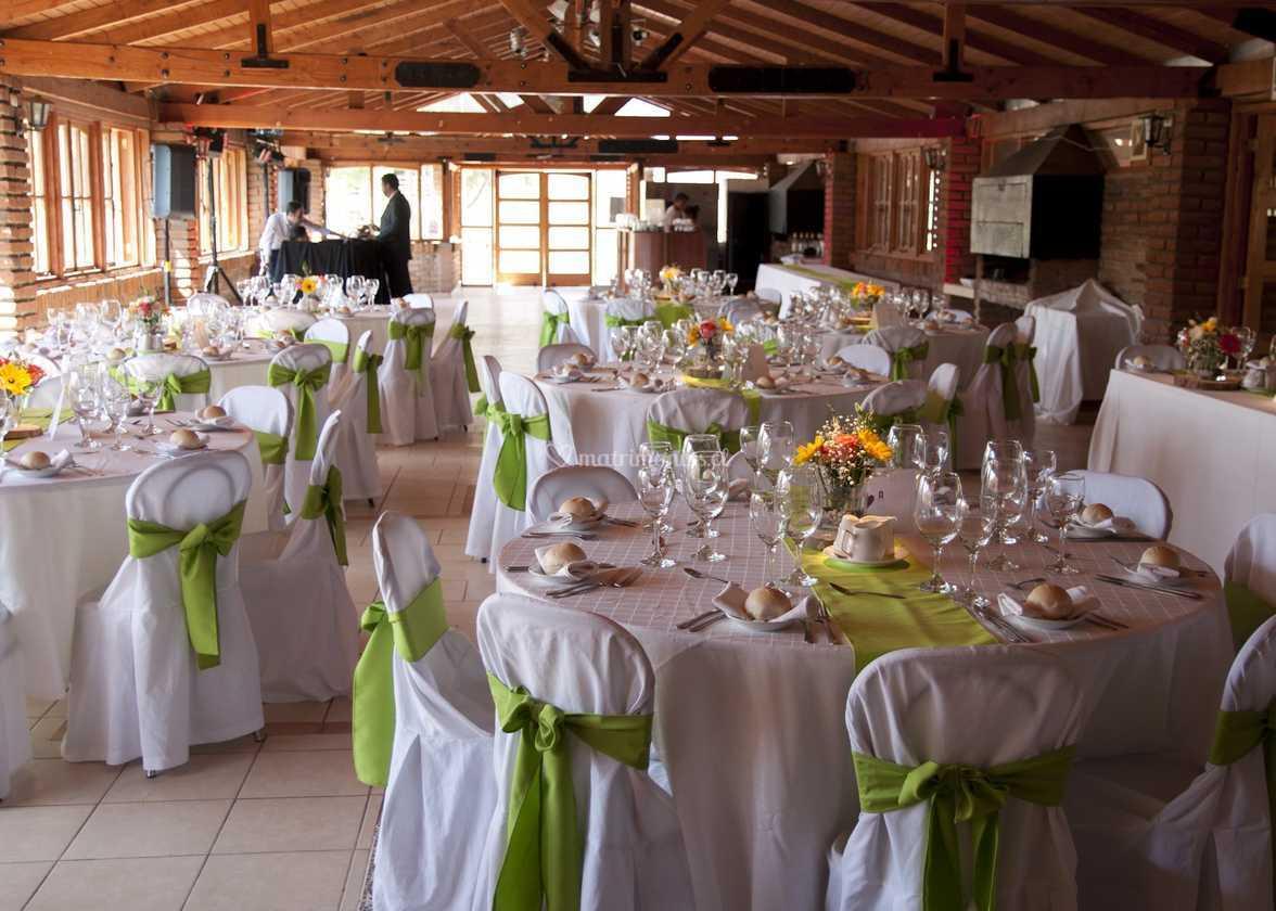 Salón montaje verde pistacho de Campo Verde | Foto 166