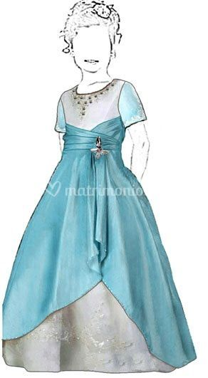 Vestido niñita se confecciona