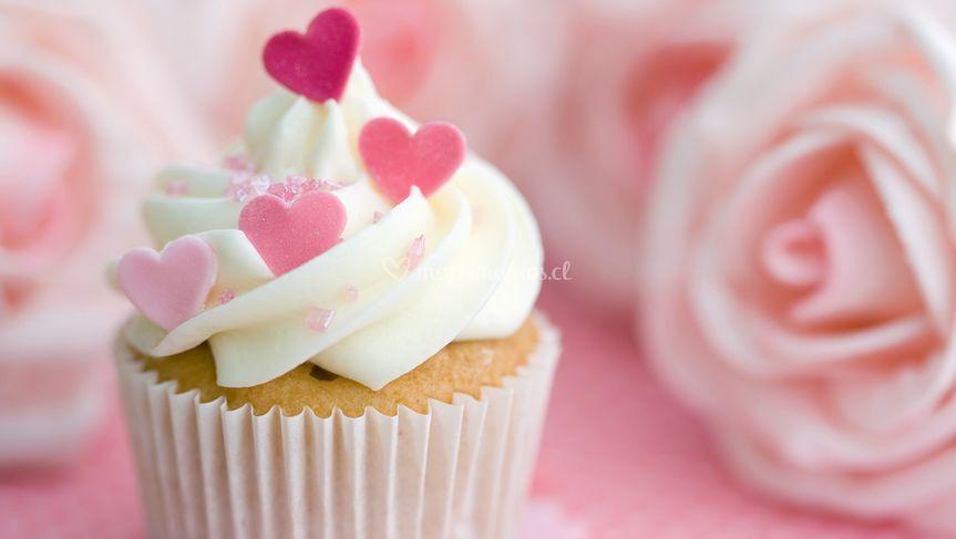 Cupcakes vainilla y manjar