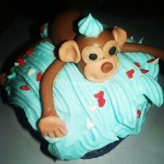 Cupcakes chispas de chocolate