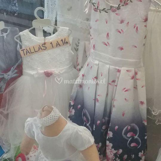 Vestidos fiesta niña