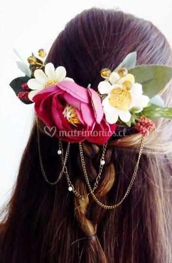 Flores y cadenas que encantan