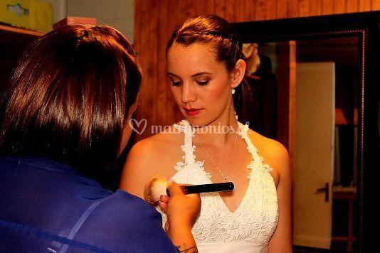 Últimos detalles de la novia