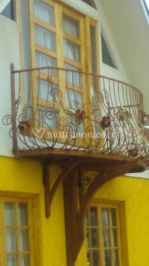 Balcón para fotos