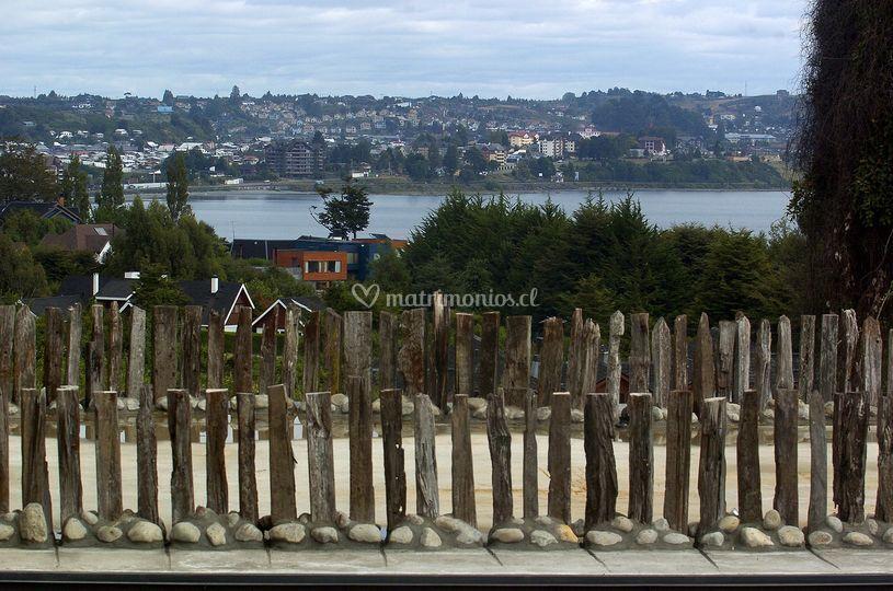 Vista desde terraza de arrebol