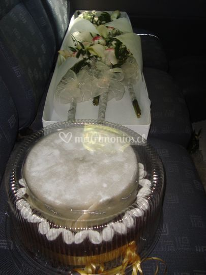 Torta para matrimonio de Venturelli Tortas