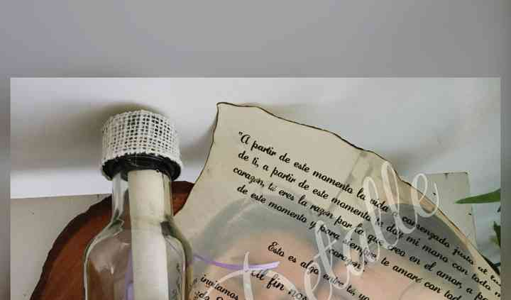 Botella Pergamino