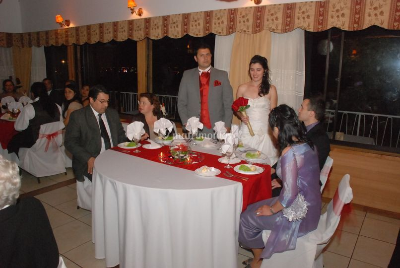 Cena espectacular