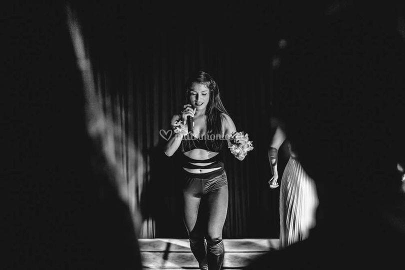 Bailarina y animadora