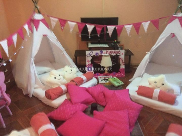 Pijama party niñas