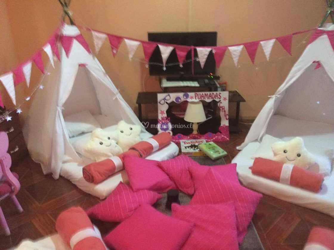 37a455a43 Pijama party niñas de Pijamadas Chic - Guardería