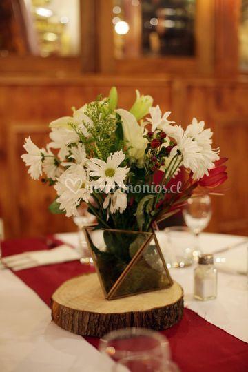 Terrario floral