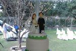 Torta 120 personas de Canela Cake