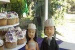 Figura de novios de Canela Cake