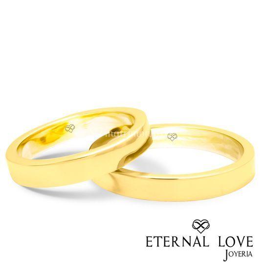 Modelo italiana oro amarillo