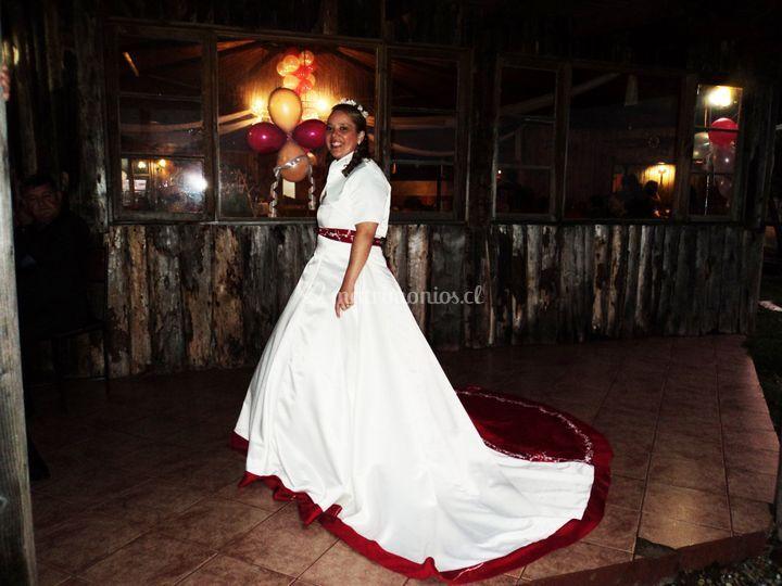 Vestido de novia alta costura