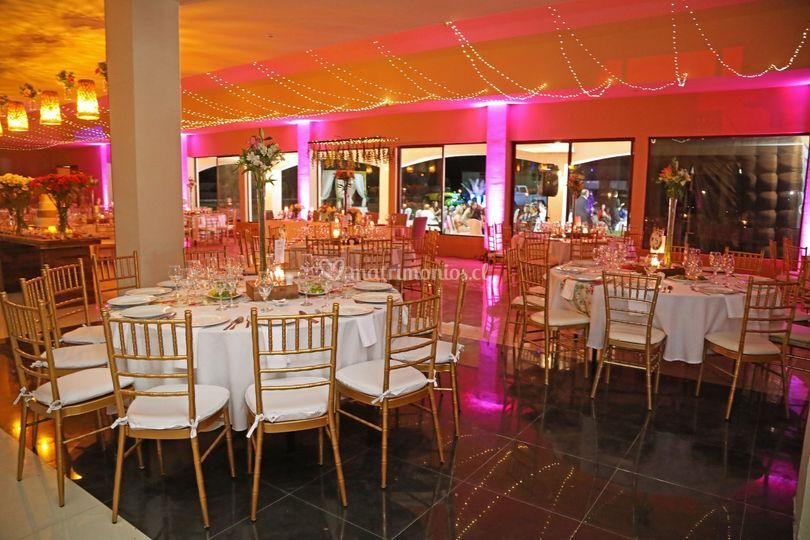 Banquete cena boda