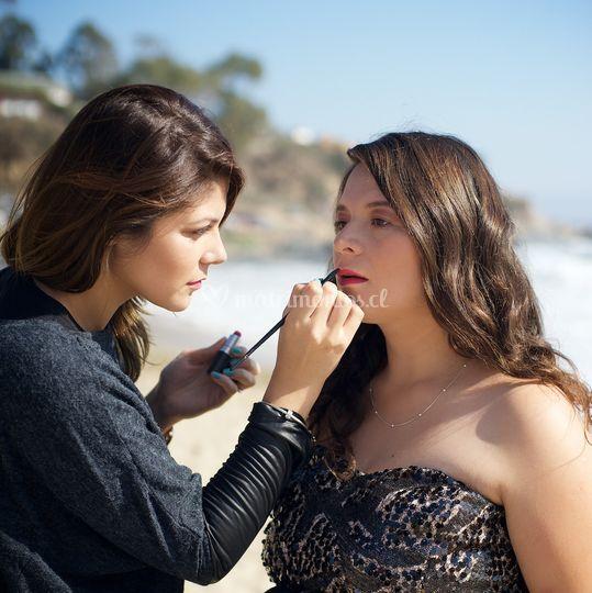 Maquillaje sesion fotos