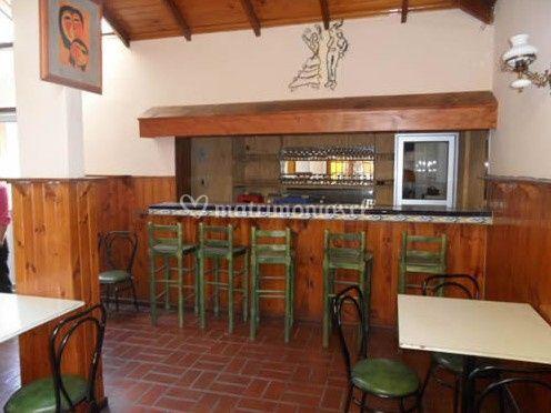 Vista del bar