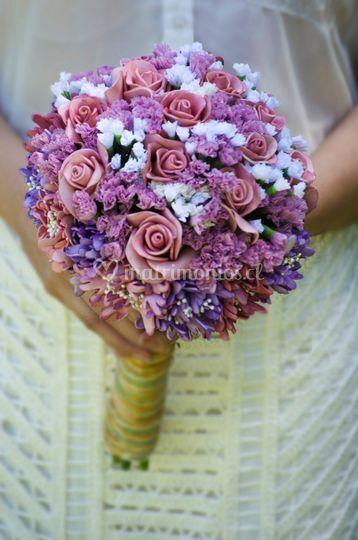 Ramos de flores foamy