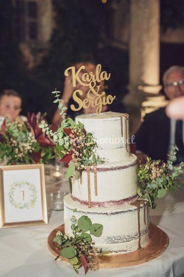 Cake topper para tortas