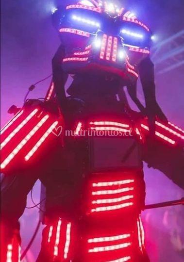 Show de robots led
