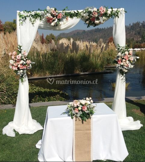 Pack altar de flores