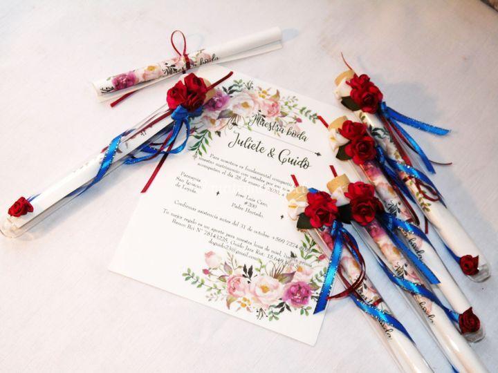 Floral y romántico