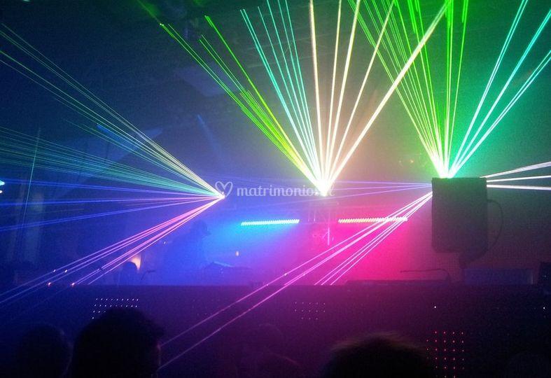 Iluminación de pista de baile