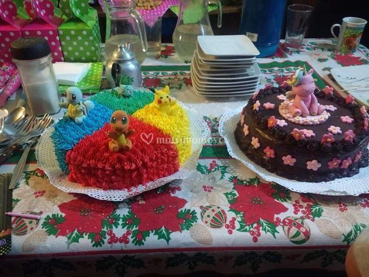 Variadas tortas