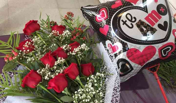 Bouquet más globo