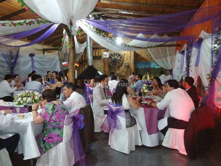Celebración de matrimonio