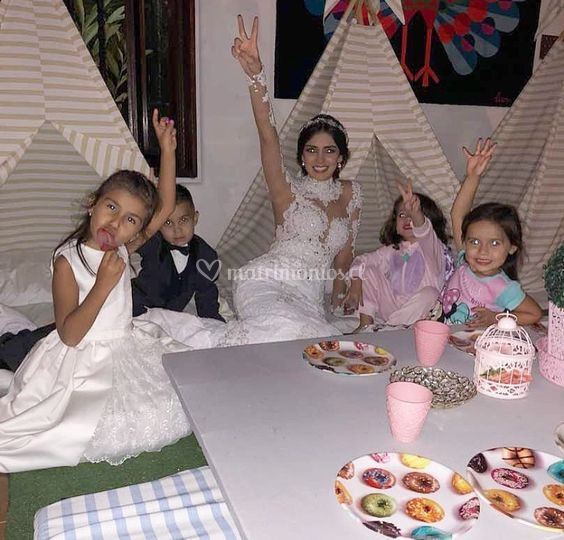 Kids corner de boda