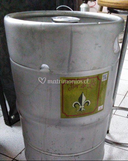 Barril 30 litros tripel 7.3 grado