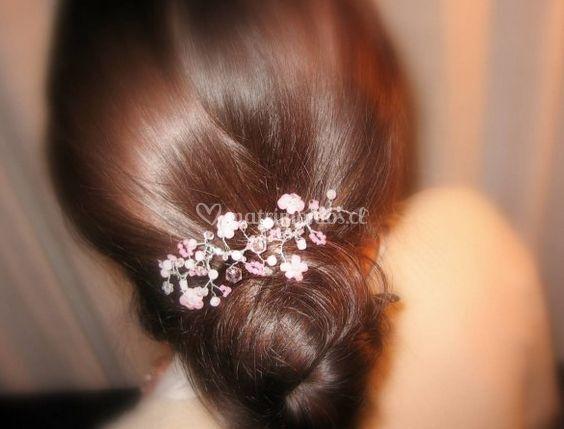 Peinados con tocado