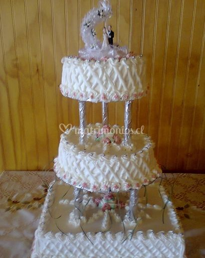 Matrimonios de tres pisos